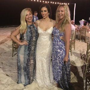 Aqua Dresses - Long Nordstrom Dress